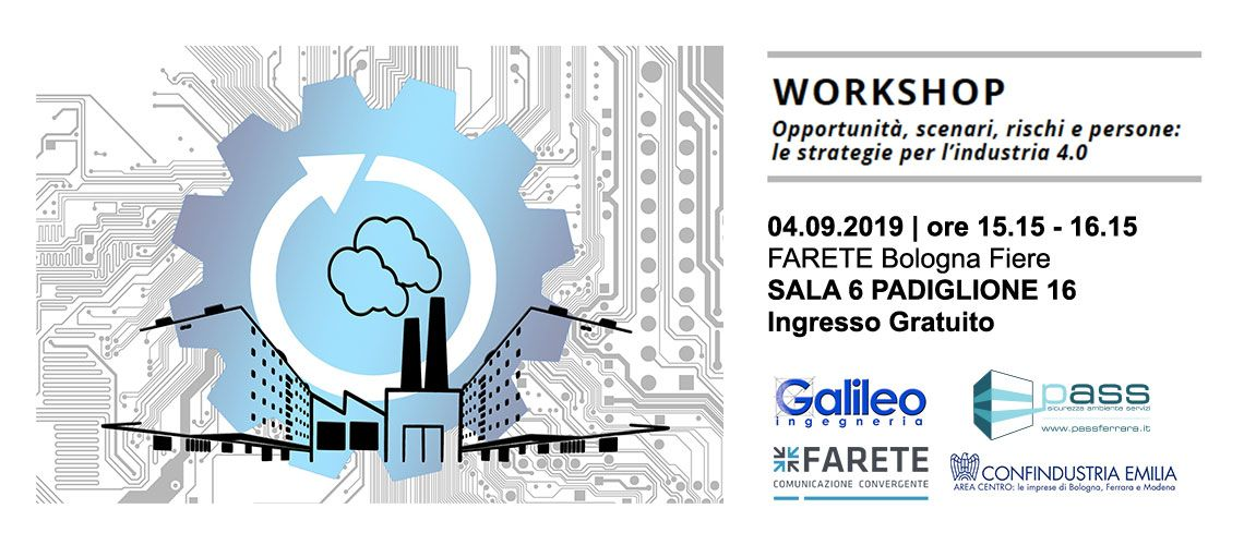 farete 2019 workshop gratuito Pass Srl