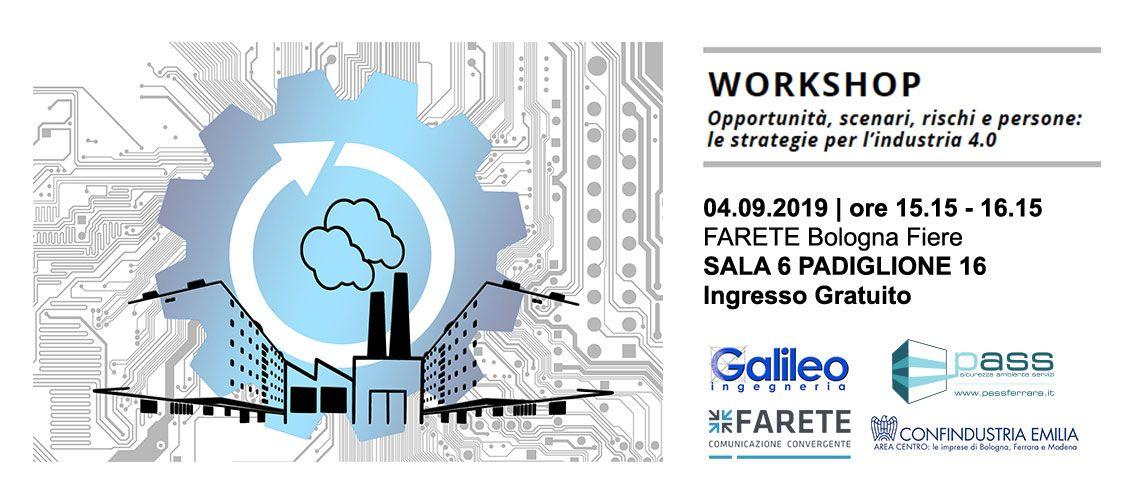 farete 2019 workshop gratuito Pass Srl